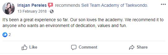 2, Sell Team Academy of Taekwondo Lakeland, FL