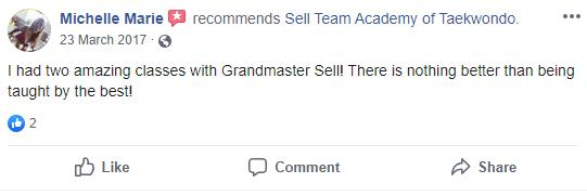 7, Sell Team Academy of Taekwondo Lakeland, FL